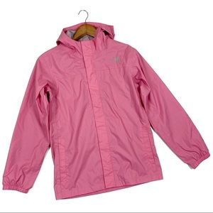 The North Face Girls XL pink Weatherproof jacket